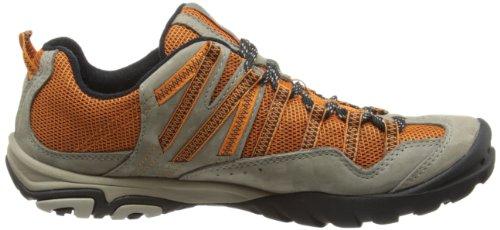 Timberland EK Low Leather Ventilated, Chaussures de randonnée homme Gris - Pewter/Orange