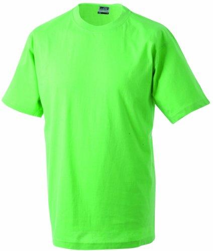 James & Nicholson Jungen T-Shirt Junior Basic Rundhals, Gr. X-Large (Herstellergröße: XL (146/152)), Grün (lime-green) (Jungen-lime Green)