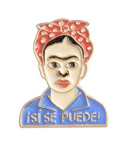 Pin de Solapa Frida Kahlo ¡SÍ SE PUEDE!
