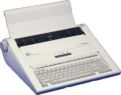 TRIUMPH-ADLER elektronische Schreibmaschine TWEN T 180 DS mit Display