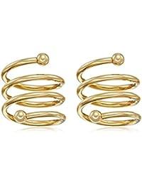 Toe Rings Wedding Collection Chooz Designer Studio Pair Of Elegant Golden Dress Style Nail Ring Cum Toe Ring