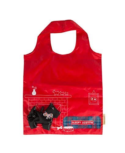 Scottie Dog Foldable shopping bag by RJB Stone -