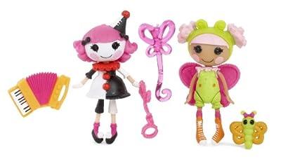 Lalaloopsy 510253 - Mini Lalaloopsy Pack De 2 Silly Fun House-Charlotte And Blossom (Bandai) por Bandai