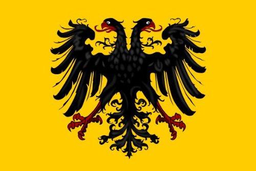 Michael & Rene Pflüger Barmstedt 8,4 x 5,4 cm Autoaufkleber Fahne Deutscher Bund deutsches Reich Doppel Adler Aufkleber Sticker fürs Auto Motorrad Reich Bund