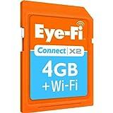 Eye-Fi Connect X2 Secure Digital High Capacity (SDHC) 4GB Speicherkarte mit Wi-Fi