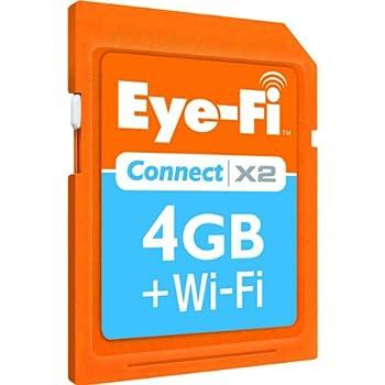 Eye-Fi Connect X2 - Tarjeta de Memoria SDHC 4 GB con Wi-Fi: Amazon ...