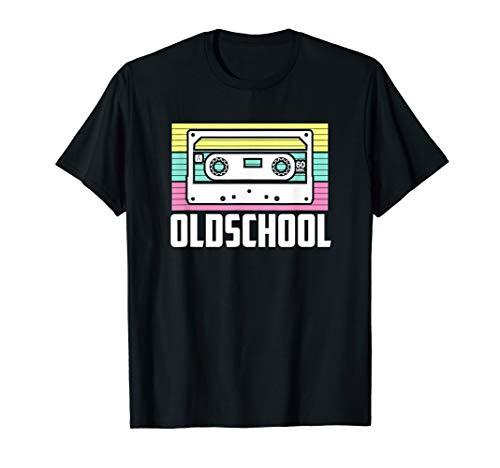 Kassetten Erwachsene Für Kostüm - Retro Oldschool Kassette 80er 90er Jahre T-Shirt