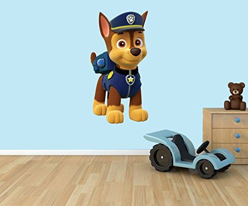 chase-paw-patrol-3d-wall-vinyl-sticker-suitable-for-walls-doors-and-glass-windows-small-35cm-x-18cm-