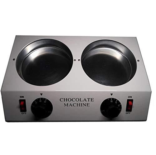 Horno de fusión de chocolate de doble cilindro, fundidor para hornear a...