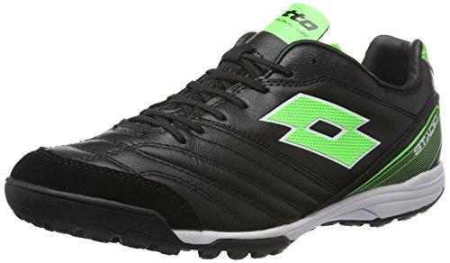 lotto-sport-stadio-300-tf-scarpe-da-calcio-uomo-nero-blk-mint-fl-43-eu