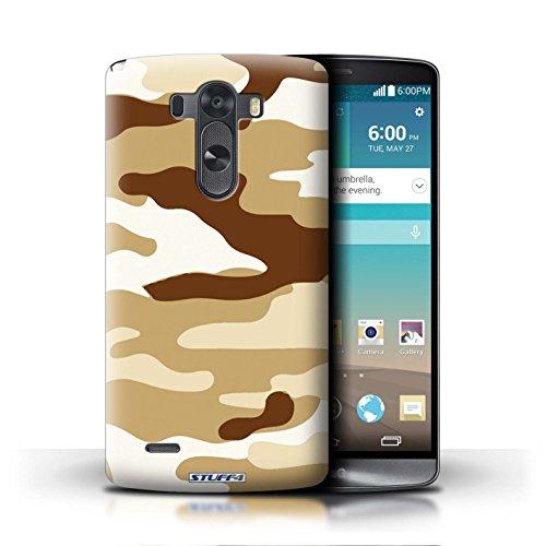 Kobalt® Imprimé Etui / Coque pour LG G3/D850/D855 / Marron 2 conception / Série Armée/Camouflage Marron 2