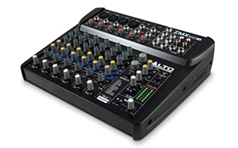 Alto Professional ZMX122FX 8 Channel Compact Mixer, Low Noise with