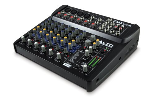 ALTO Professional ZMX122FX - Mezclador compacto 8