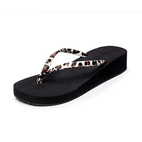 Estate Sandali Fondo piatto femminile con pantofole antisdrucciolo per la primavera e l'estate Colore / formato facoltativo 1001