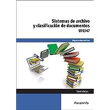 Sistemas de archivo y clasificación de documentos (Cp - Certificado Profesionalidad)