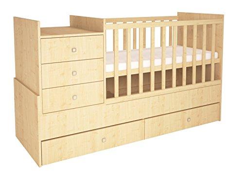101123489, Polini Kids Kombi-Kinderbett Simple 1000 gebraucht kaufen  Wird an jeden Ort in Deutschland