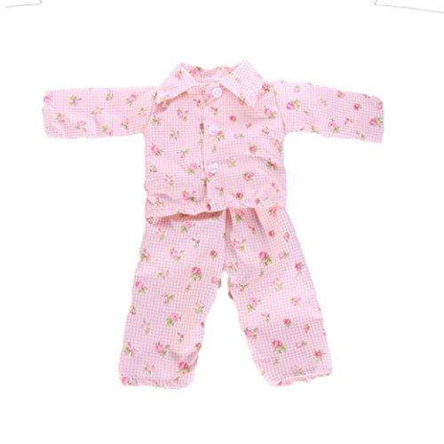 Hirolan Niedlich Pyjama Nachthemd Kleider zum 18 Zoll Unser Generation amerikanisch Mädchen Puppe Sommer Badeanzug Baden Kleider Princess Kleidung Abendkleid American Girl Puppe (D)