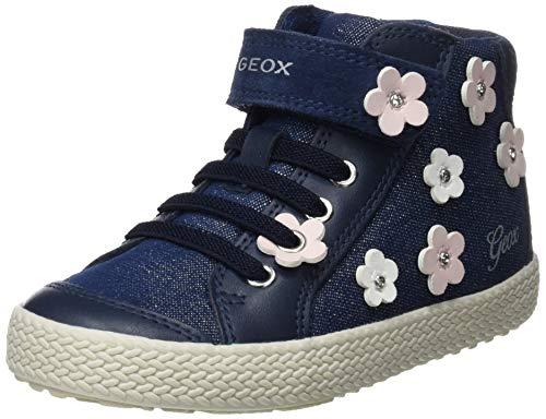 Geox Baby Mädchen B Kilwi Girl B Sneaker, Blau (Avio C4005), 25 EU -