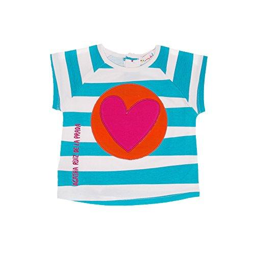 Agatha Ruiz De La Prada Baby T-Shirt 8326S15 CARAMELOS (9 Monate)