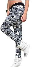 Tongshi Fitness polainas camuflaje mujer elastizada Yoga gimnasio de deportes pantalones