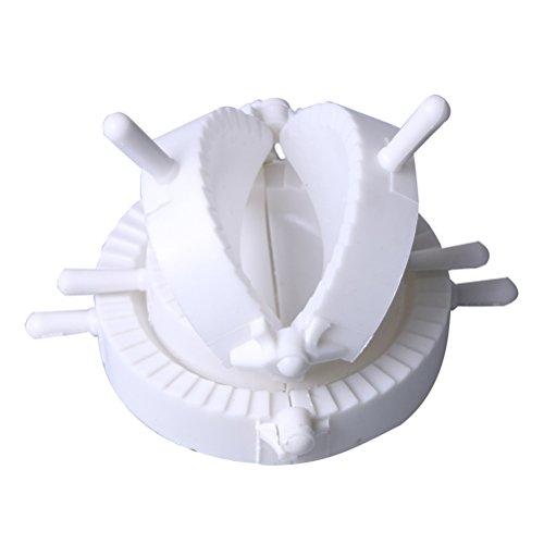 Vicloon Ravioli Maultaschenformer, Former-Set für Ravioli und Teigtaschen, Weiß, 3 Stück
