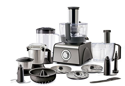 Eveready FPM1000 1000-Watt Food Processor (Black)