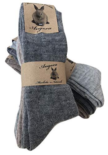 calzini caldi lana d angora per uomo e donnacalze calzini invernali per il freddo made italyaltezza metà polpaccio.
