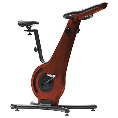 NOHrD Bike-Fahrradergometer, Heimtrainer, Fitnessbike, Holz