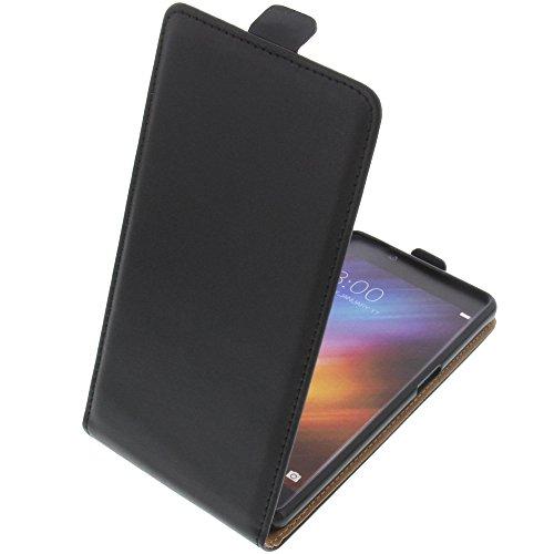 foto-kontor Tasche für Doogee Shoot 1 Smartphone Flipstyle Schutz Hülle schwarz