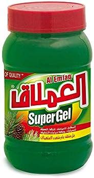 AL EMLAQ SUPER GEL GREEN 750 gm - PINE OIL(Pack of 1)