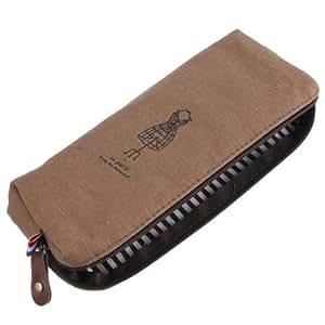 Retro Paris Memory Soft Cotton Pencil Pen Case Cosmetic Makeup Bag Storage Bag,Skirt