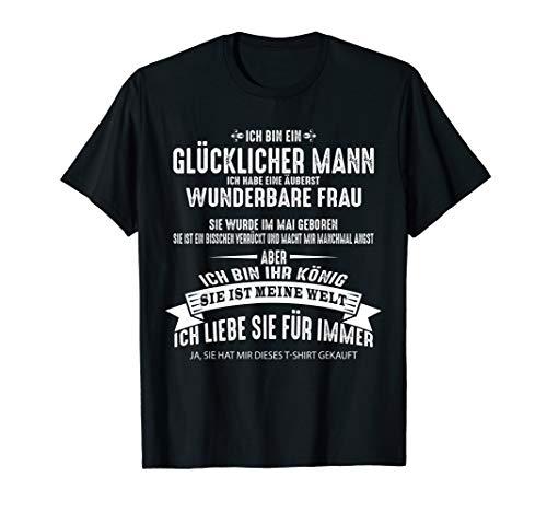 Herren Ich habe eine äußerst wunderbare Frau T-shirt