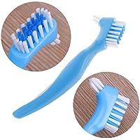Proto Cool Forma de Y Dedicada Dentadura doble Cepillo Dientes Cuidado bucal Cepillo de dientes ABS