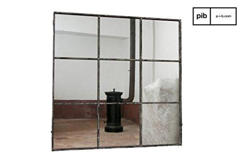 POMAX pib - Espejos - Espejo Cuadrado diseño Industrial