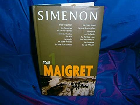 Nuits Saint Georges - Tout Maigret - Tome 1 (PIETR LE