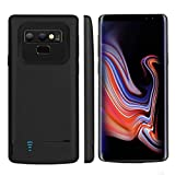 Bahonda Galaxy Note 9 Battery Case, 5000mAh Rechargeable Extended Battery Charging Case