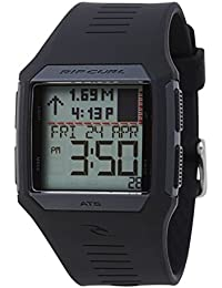 Rip Curl 2017 Rifles Mid Tide Surf Watch in BLACK A1124