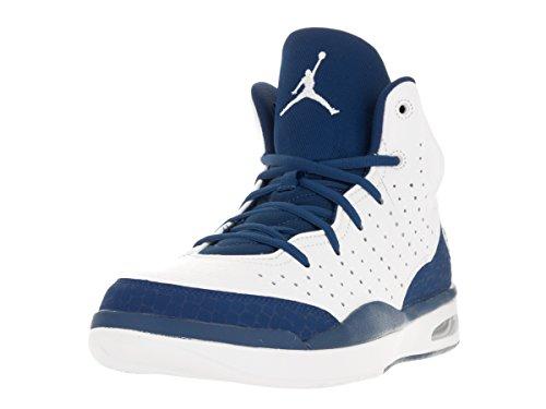 Nike Jordan Flight Tradition, Chaussures de Sport Homme Multicolore - Blanco / Azul (White / French Blue)