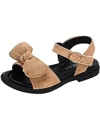 Malloom Verano Niños Niñas bebé Sandalias Bowknot Romano Sandalias Princesa Zapatos