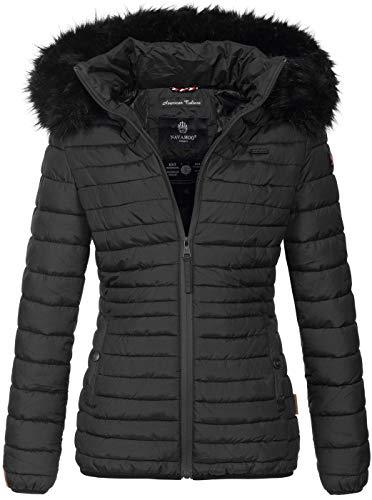 Navahoo Designer Damen Winter Jacke Steppjacke Stepp Winterjacke B655