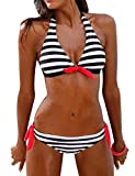Yuson Girl Banda Bikini Donna Push Up,Sexy Bikini Brasiliana Donna Costume da Bagno Donna,Sexy Bikini Beachwear Swimsuit