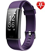 Fitness Tracker, Lintelek Customized Activity Tracker with Heart Rate Monitor, 14 Sports Modes Smart Watch Bluetooth Pedometer for Men, Women and Kids