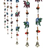 #8: Pindia 'Camel' Handcraft Rajasthani Paper Mache Door hanging (Set of 2)