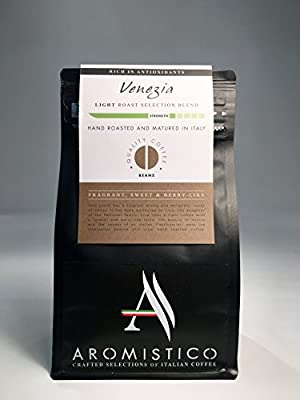 AROMISTICO COFFEE Venezia Selection Blend - BEANS by Arca Srl