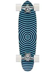Osprey Spiral Single Kick Skateboard mini cruiser Bleu