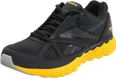 Reebok Solarvibe 150282, Herren Sportschuhe, Grau (gravel/blaze yellow 9), EU 48.5 (UK 13)