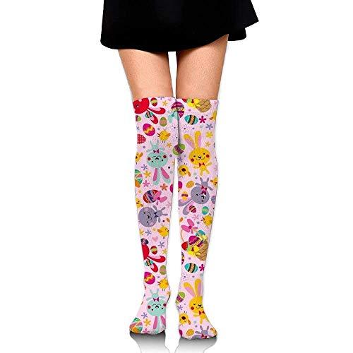Bunny Womens Socks Thigh High Over The Knee Socks Cycling Socks ()