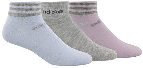 adidas Women's 3-Stripe Low Cut Socks (3-Pack) - Adidas Womens Low Cut Sock