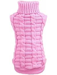 7da044762a35 Culater® Moda Cane Vestiti Invernali Tridimensionale Maglione Cucciolo  Vestiti di Lana