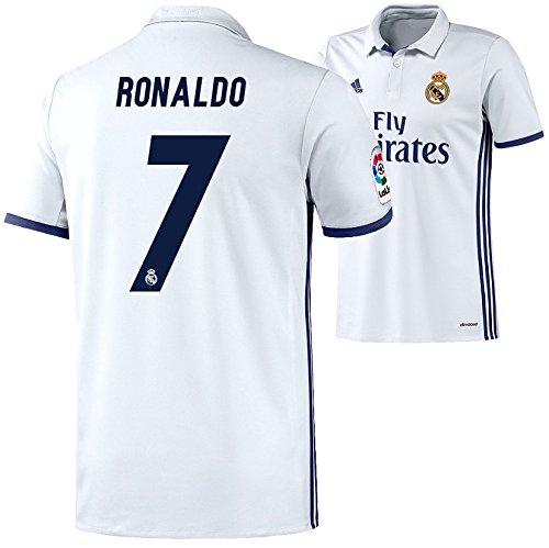 adidas REAL MADRID Trikot Home Herren 2016 / 2017 - RONALDO 7, Größe:L